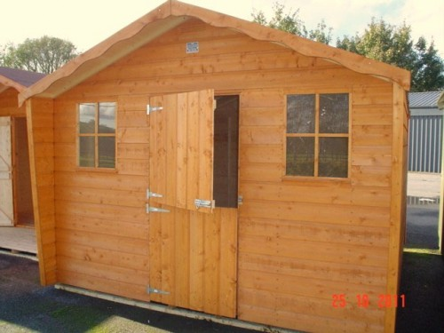 8ft x 8ft Cabin Shed